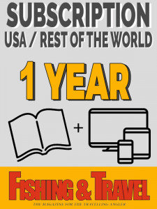 Subscription USA / Rest of the World - Printed + Digital edition 1 year (4 issues)
