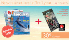 Subscription EUROPE - 1 year- 4 issues + VMC assist hooks