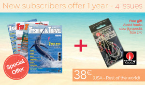 Subscription USA / Rest of the World - 1 year - 4 issues + VMC assit hooks